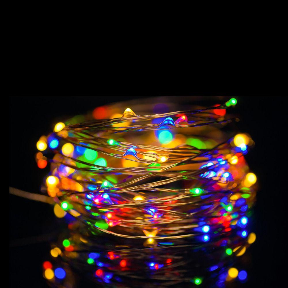 Find More Night Lights Information About Solsolar 10m 100led Novelty Copper Ukrasheniya Nochnik Cvetok