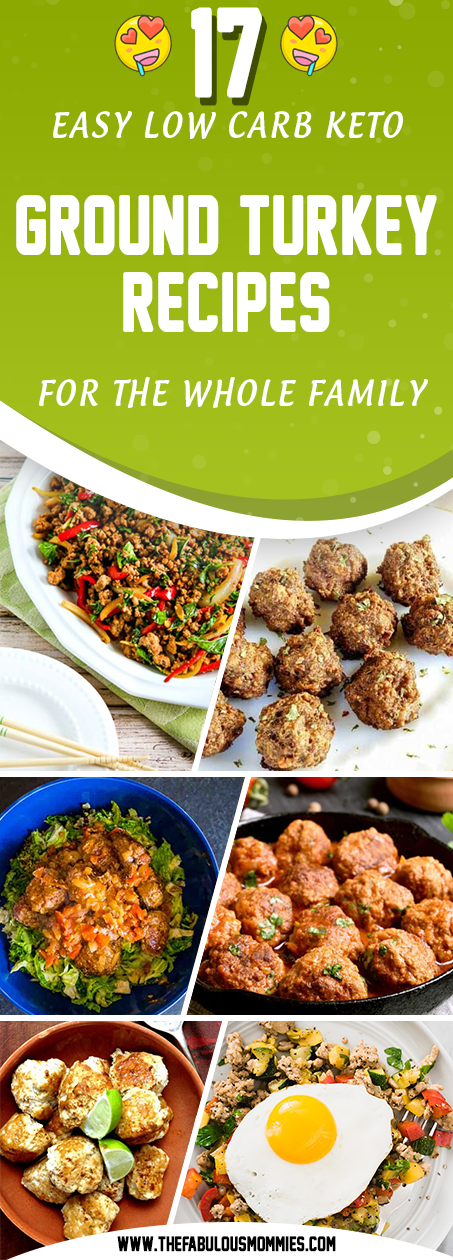 17 Easy Low Carb Keto Ground Turkey Recipes for The Whole ...