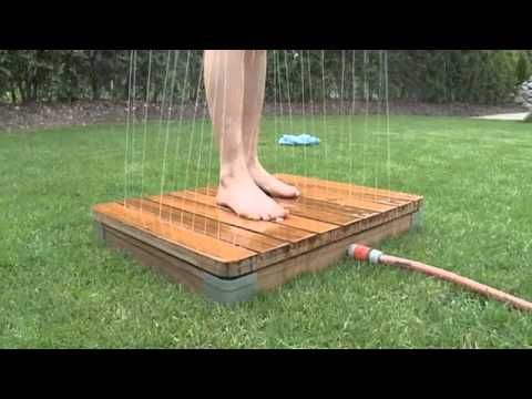 die einzigartige gartendusche youtube swimming pools pinterest gartendusche einzigartig. Black Bedroom Furniture Sets. Home Design Ideas
