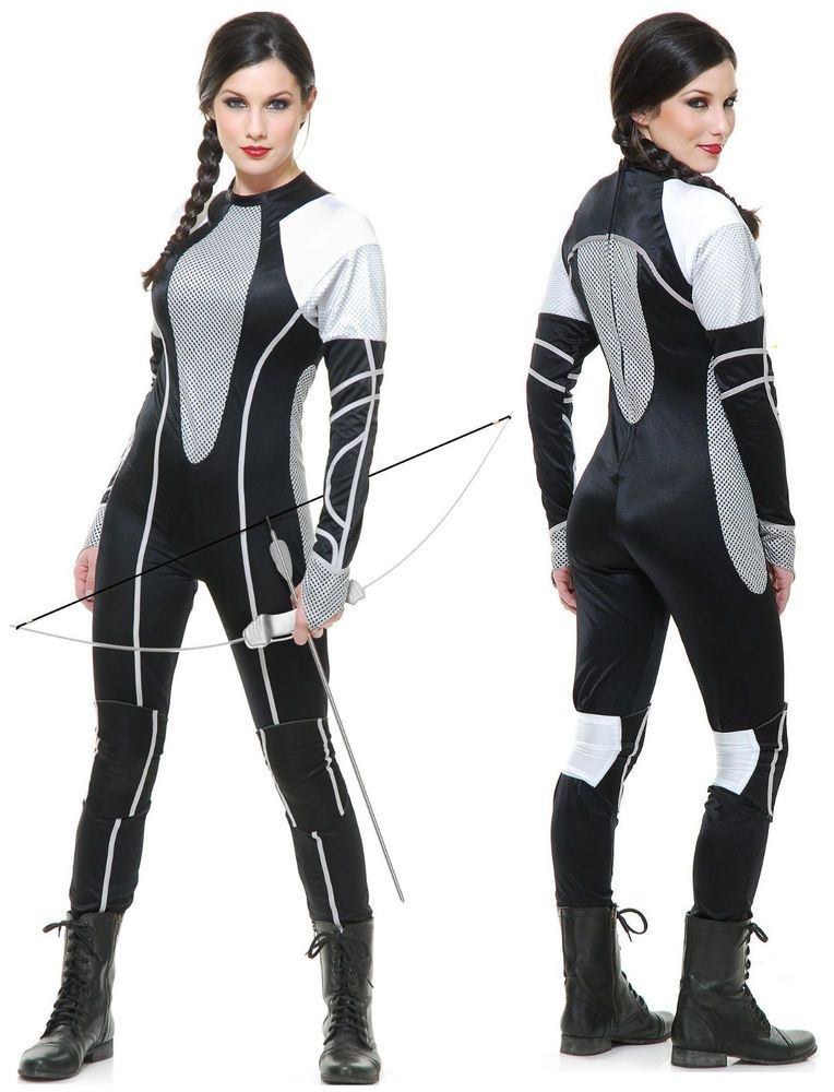 b7768b59 Katniss Everdeen Catching Fire Jumpsuit Hunger Games Peeta District 12  Costume #Charades #CompleteCostume