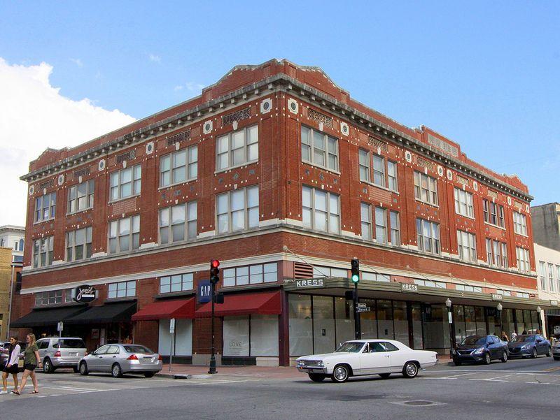 Kress Building Savannah Ga Building Savannah Historic