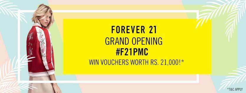 Forever 21 Grand opening, Forever 21, 21st