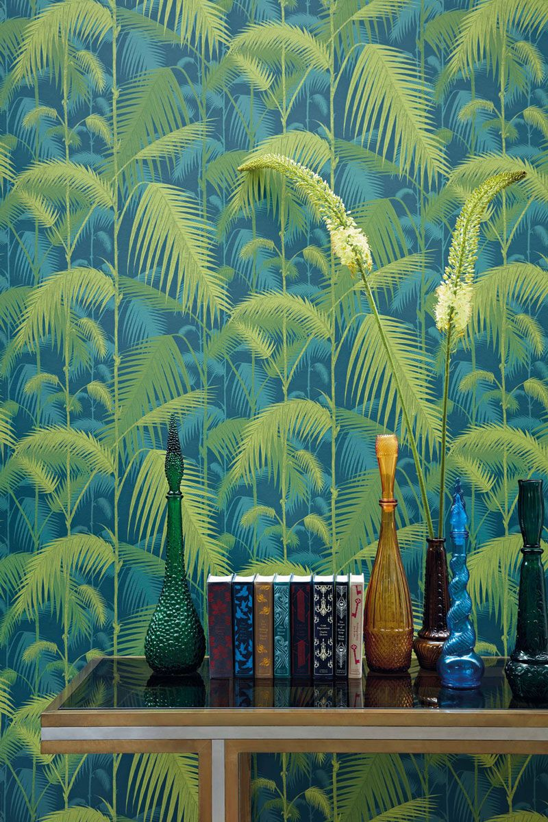 Palmen Tapete Palm Jungle Icons Von Cole And Son