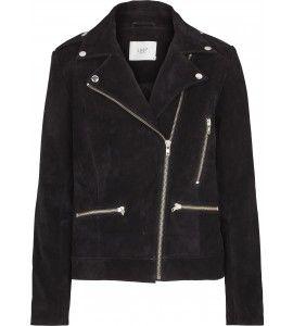 Just Female Direct suede jacket black