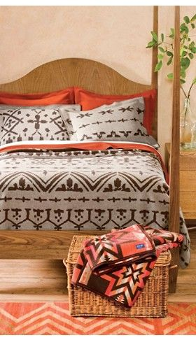 pendleton 174 classic wool comforter in white bed great plains blanket collection from pendleton ranch 812
