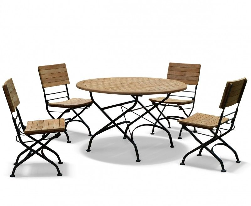 Bistrotisch Mit Stühlen teakholz bistro tisch und stühle überprüfen sie mehr unter http