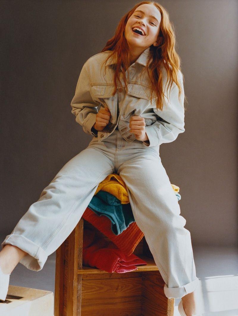 Stranger Things Star Sadie Sink Collaborates With Pull Bear On These Looks Sadie Sink Sadie Sink