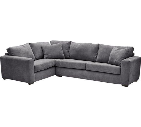 Buy Heart Of House Eton Fabric Left Hand Corner Sofa