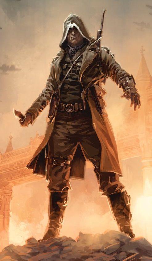 Eddie Gromp Assassins Creed Art Assassin S Creed Modern Assassin