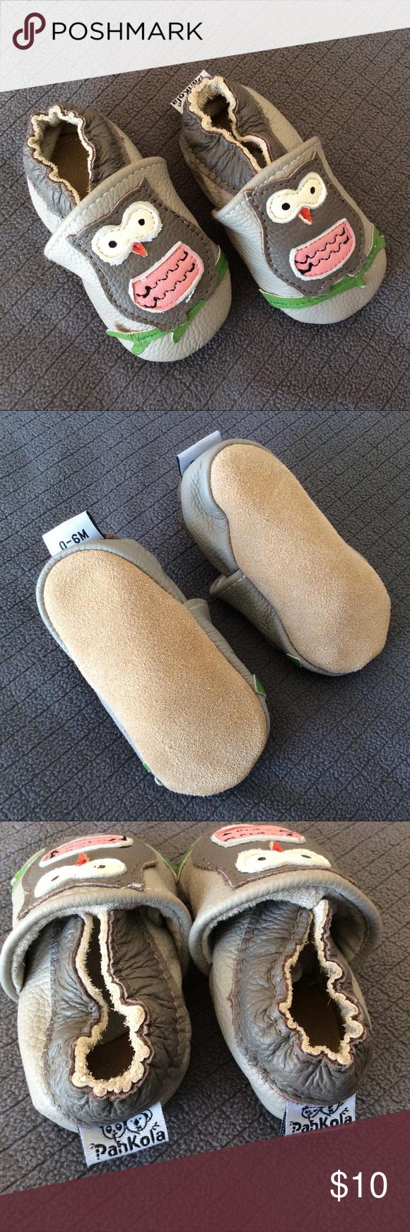 Owl shoes EUC Pankola infant shoes size