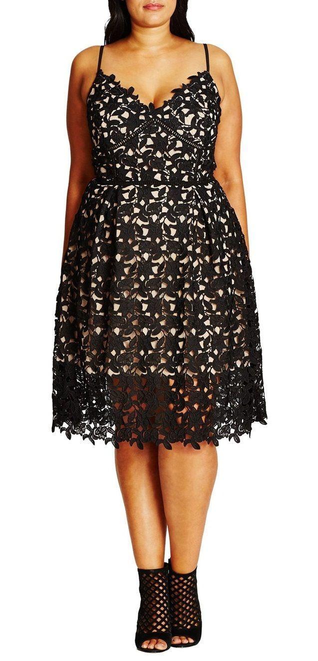 Love! Plus Size Lace Sundress | Plus Size Fashion | Plus ...