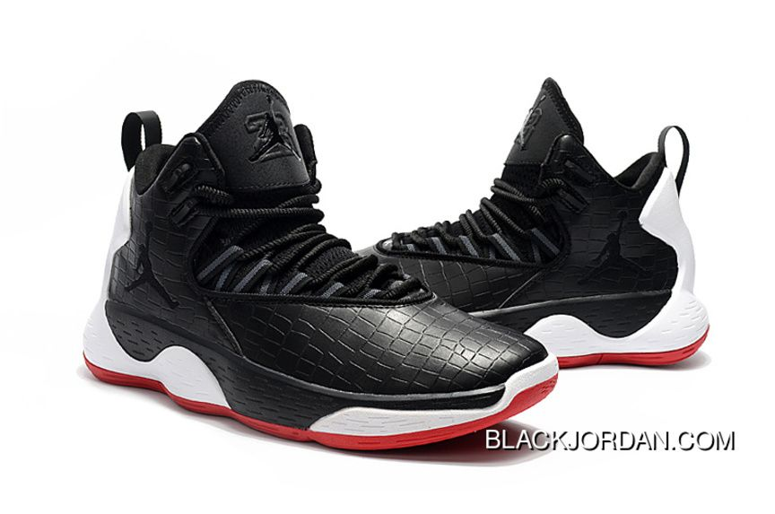 "7874016f1 Nike Jordan Super.Fly MVP PF ""Bred"" Mens Basketball Shoes Black Red White  AR0038-023 Top Deals"