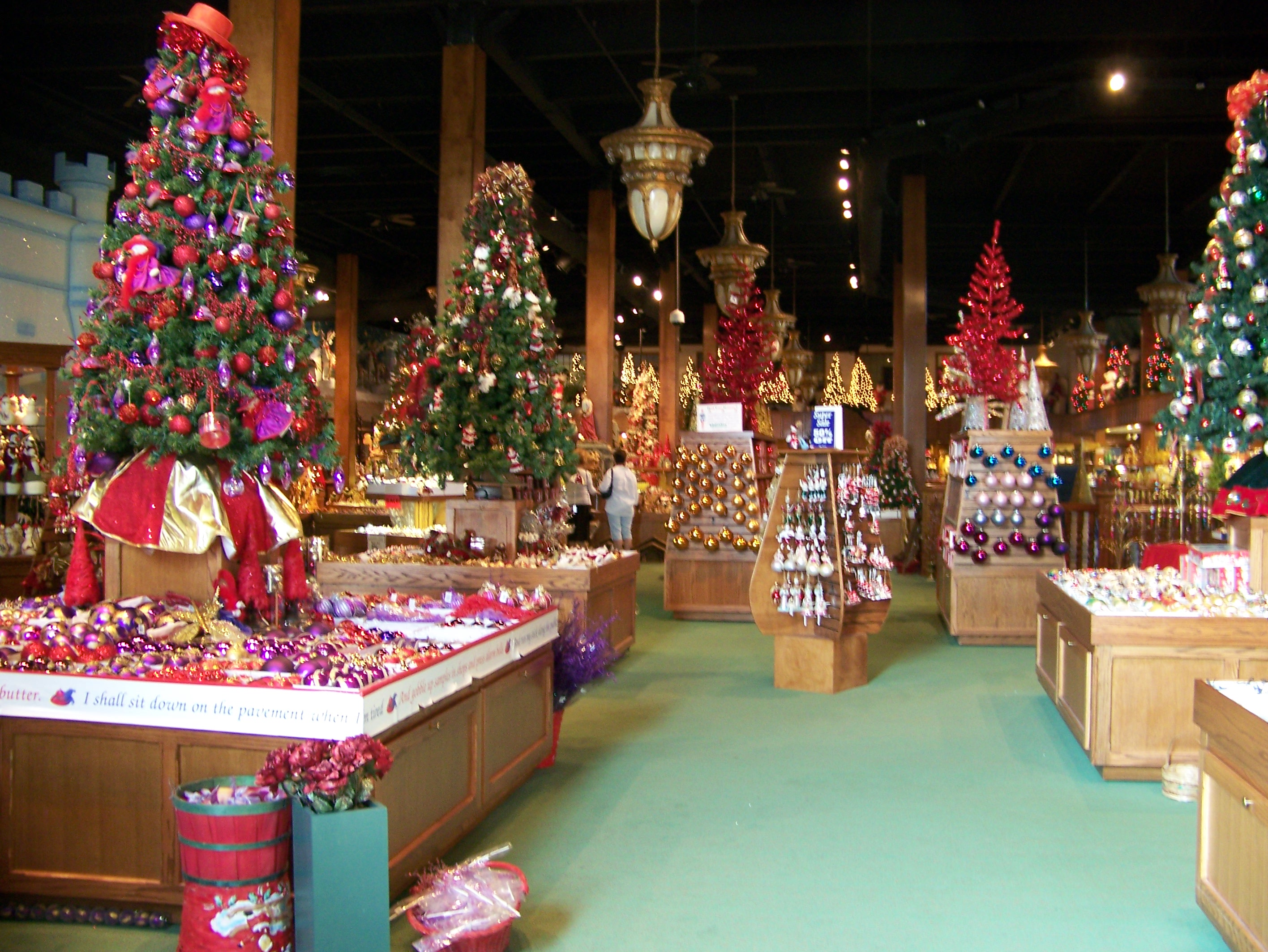 Leave it to michigan to have a year round christmas store for The christmas store