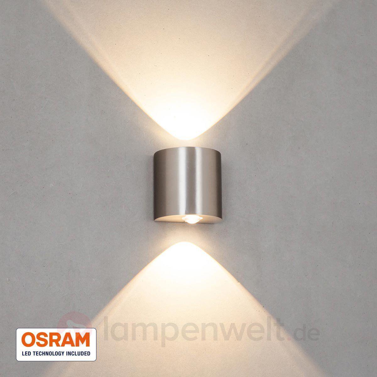 Moderne Led Wandleuchte Dilara Mit Osram Leds Sicher Bequem Online Bestellen Bei Lampenwelt De Moderne Lampen Beleuchtungsideen Wandleuchte