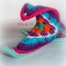 Resultado de imagem para crochet babuchas