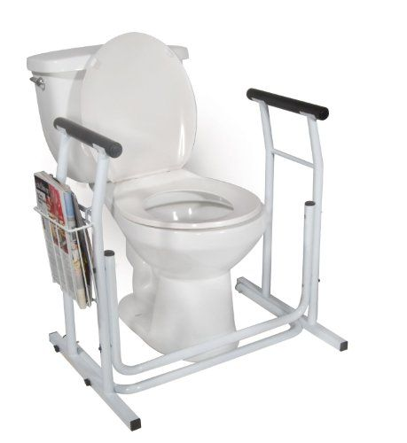 Medmobile Stand Alone Toilet Safety Rail Https Www