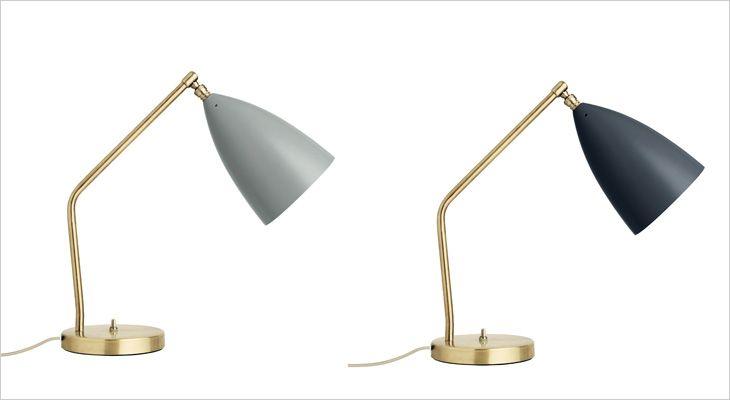 GUBI Grossman Gräshoppa table lampe, desktop lamp, work