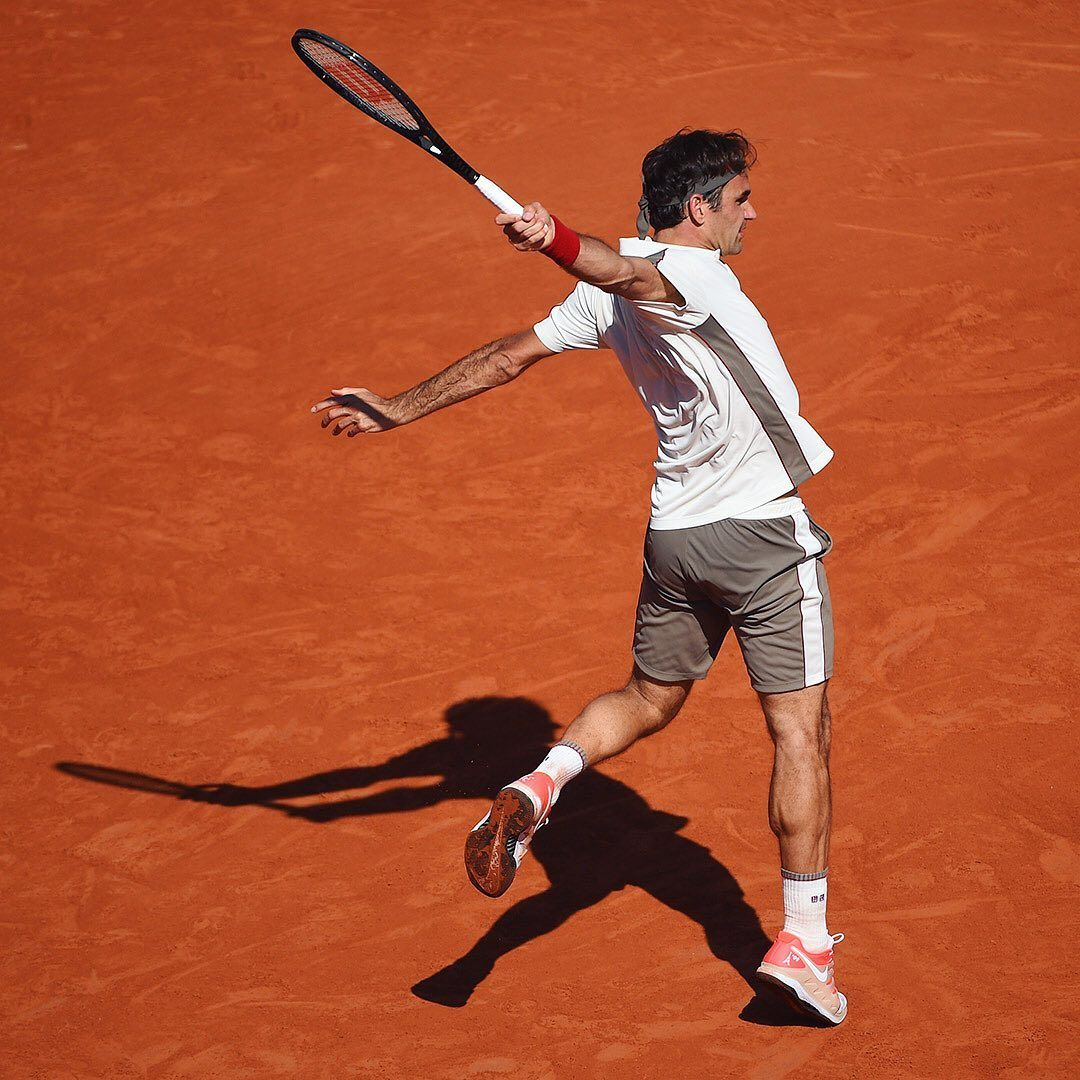 Roland Garros On Instagram Federer Fanfare Rogerfederer Rg19 Coco Dubreuil Fft Rolandgarros Rogerfed Tennis Photos Roger Federer The Sporting Life
