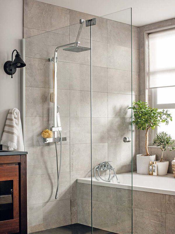 Tendencias para el cuarto de ba o banys bathroom bath y wet room bathroom - Alicatado banos pequenos ...
