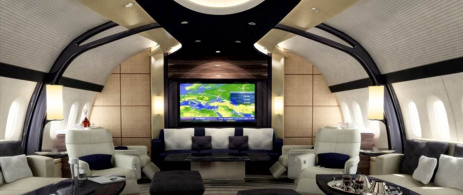 How Much Does a Private Jet Cost Aircraft interiors