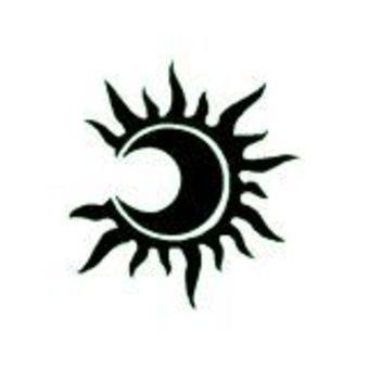 lune soleil projet tattoo pinterest lune soleil lune et soleil. Black Bedroom Furniture Sets. Home Design Ideas