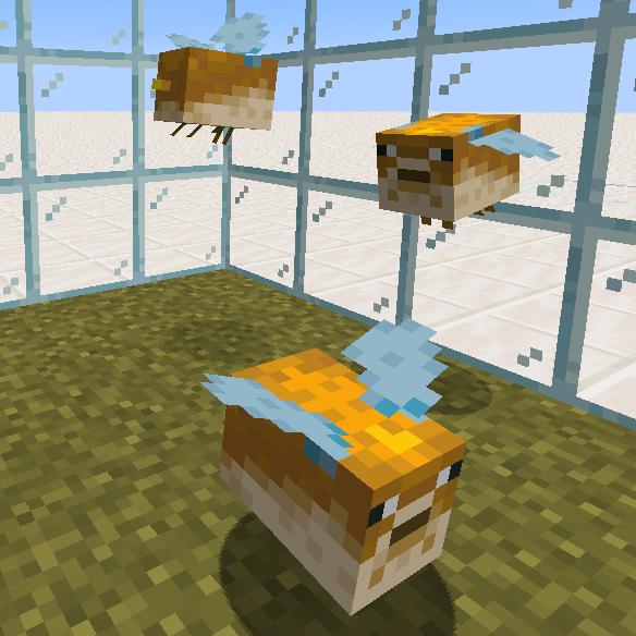 My Friend Made Bees Into Pufferfish Minecraft Minecraft