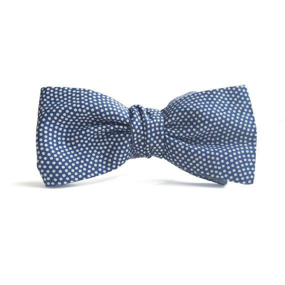 Mens Polyester Self Tie Reversible Bowtie Tie Yourself Bow Ties