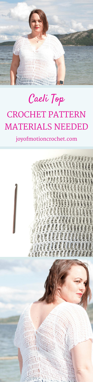Crochet Caeli top - A Free Crochet Pattern | Add your BEST Pinterest ...