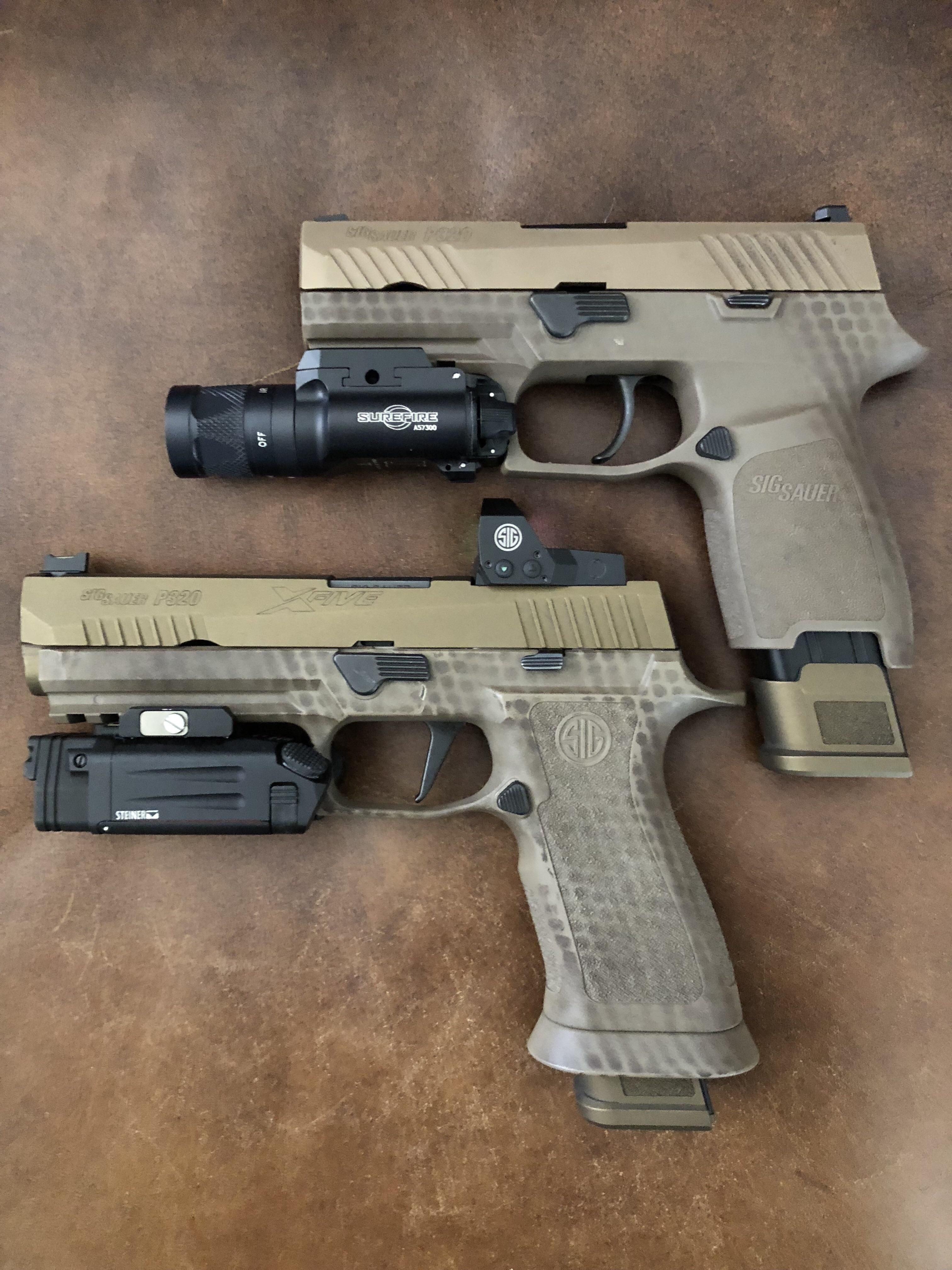 SIG P320 X5 And its backup  Tools of my professional