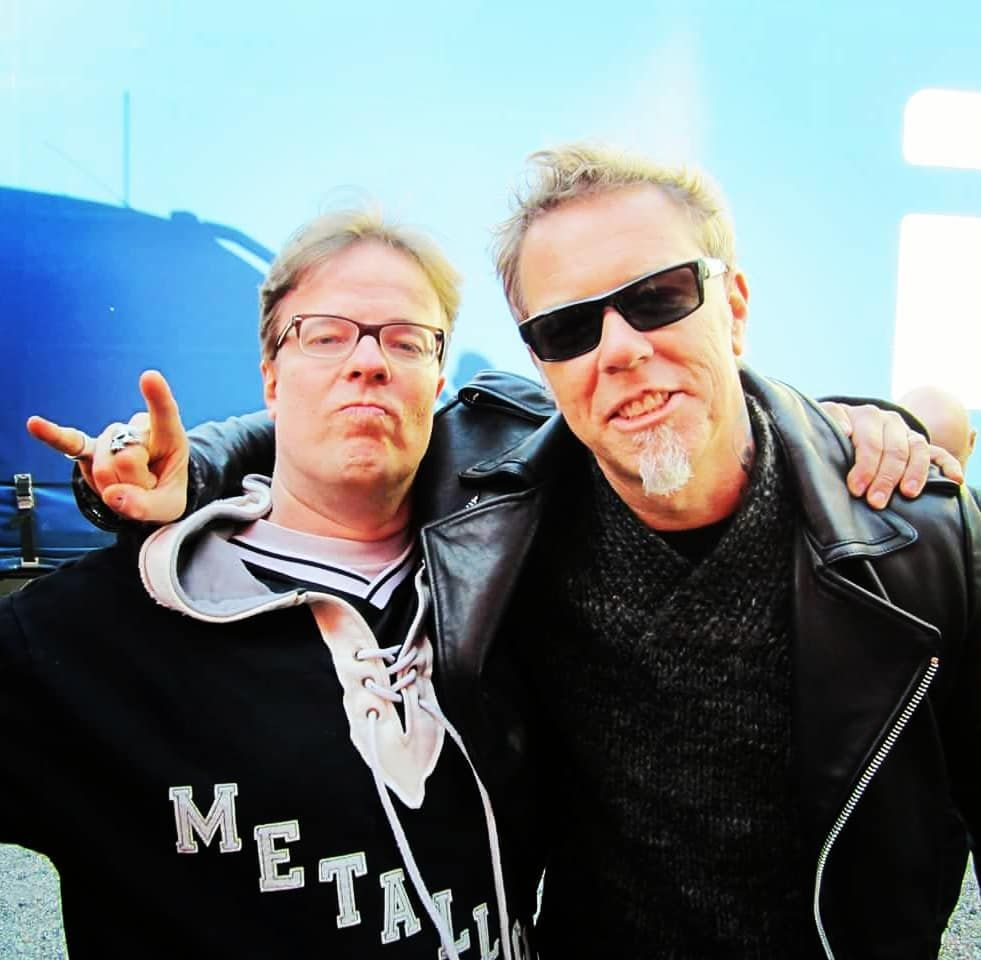 Only 11 Days To Metallica At Hellsinki Here Is One Pic A While Ago