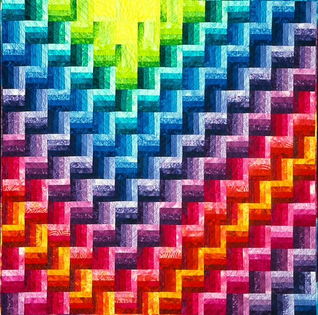 Northern Lights by Joen Wolfrom | Quilts | Pinterest | Northern ... : northern lights quilt pattern - Adamdwight.com