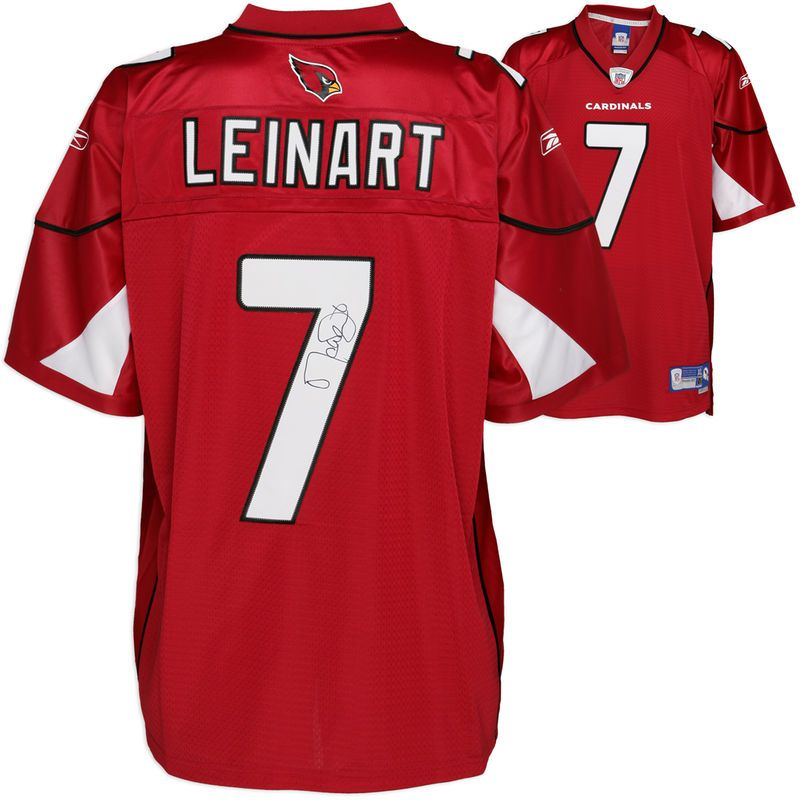 817c58c2f174 Matt Leinart Arizona Cardinals Fanatics Authentic Autographed Reebok ...