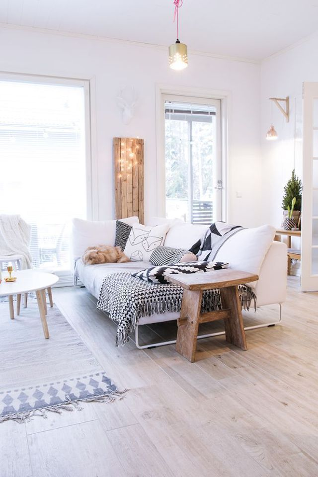 Décoration chaleureuse et cosy dans un intérieur contemporain | Home ...