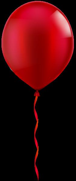 Single Red Balloon Png Clip Art Image Red Balloon Clip Art Balloons