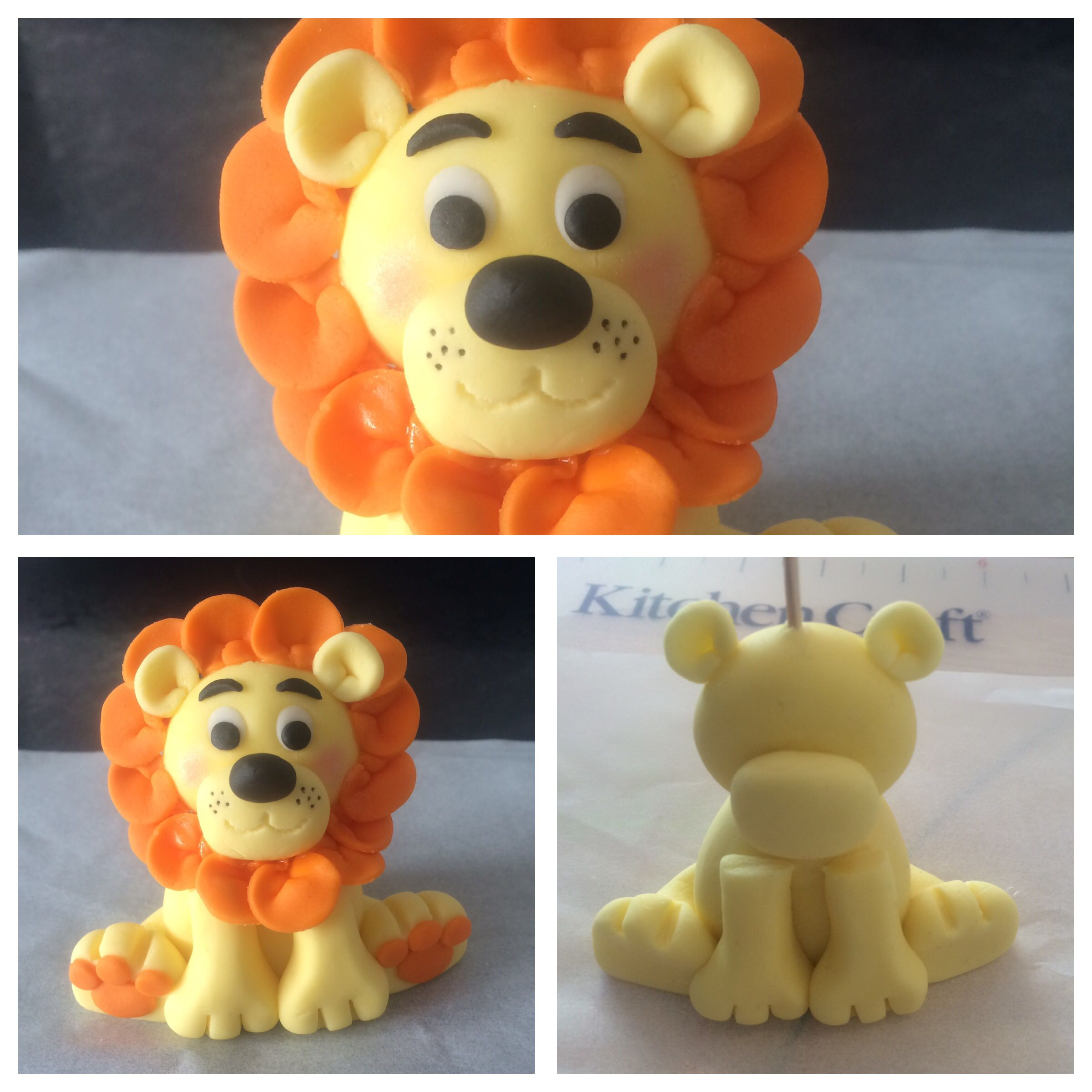 fondant lion cake topper fondant pinterest fondant tiere marzipanfiguren und fondant deko. Black Bedroom Furniture Sets. Home Design Ideas