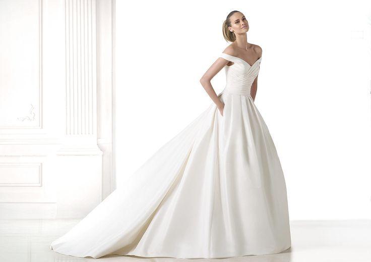 Silk Mikado Wedding Dress - Google Search