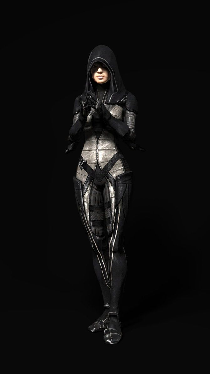 Kasumi - Mass Effect 2 | Mass effect 2, Mass effect