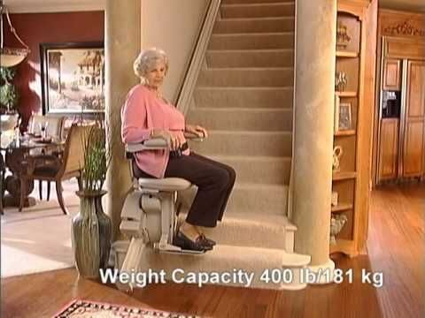 Bruno Elite Straight Rail Stairlift From Stairbusters Com A High Quality Stairlift Combined With A Stylized Appearance The Elite Straight Ch Innovation Design