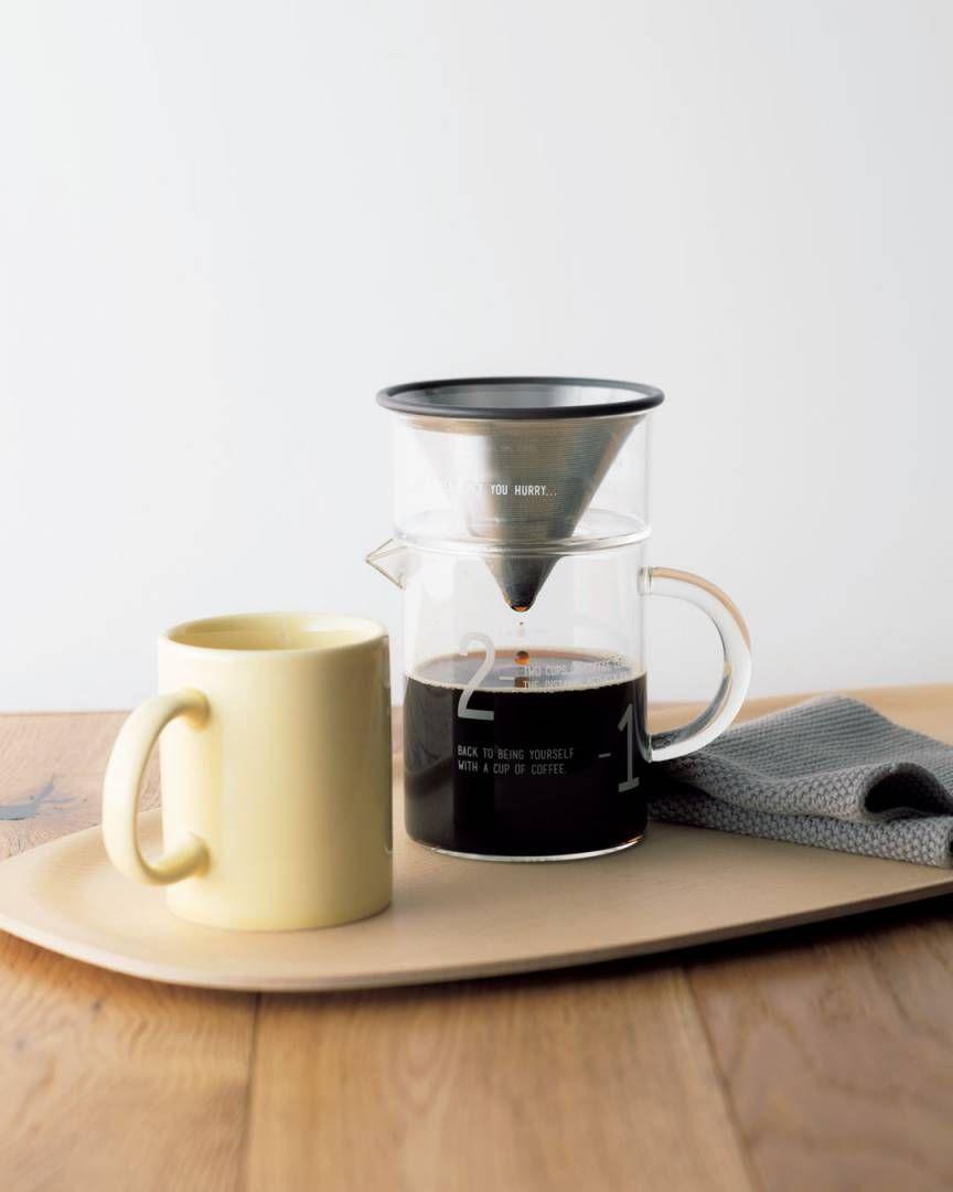 機能美を極めたコーヒーセット 紙フィルターも不要 2020 コーヒー エッセ かまぼこ板