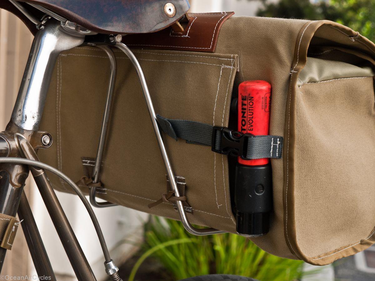 Saddle Bag No 001 Ocean Air Cycles Click To Shop Bike Saddle Bags Bikepacking Bags Bike Bag