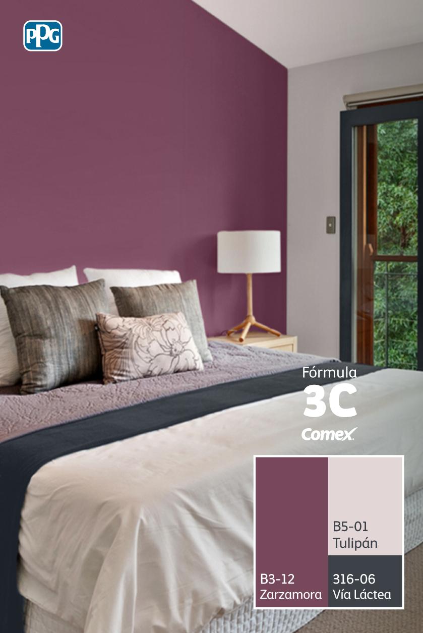 Conoce la f rmula3c y sus posibles combinaciones for Decoracion de interiores pintura recamaras