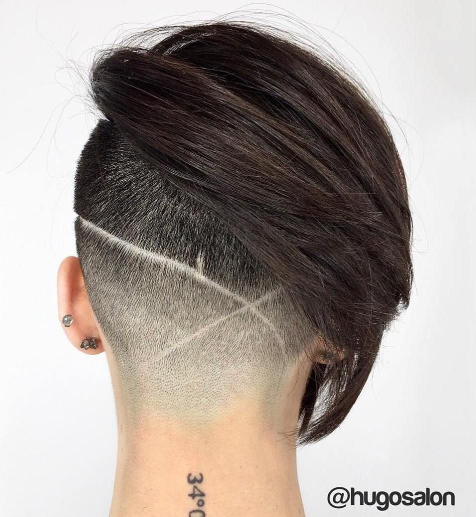 20 Cute Shaved Hairstyles For Women Hairstyles Shaved Hair Hair