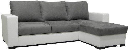 inspirant canape angle blanc et gris