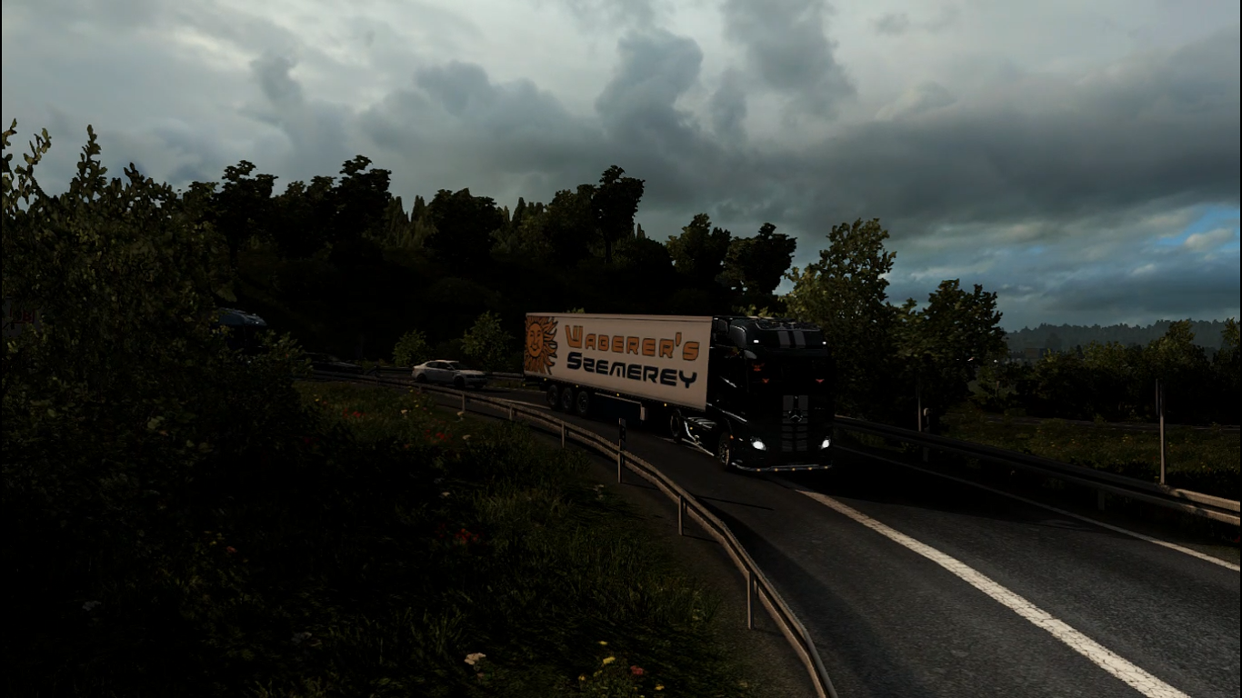Euro Truck Simulator 2 - Mercedes-Benz Actros | Euro Truck