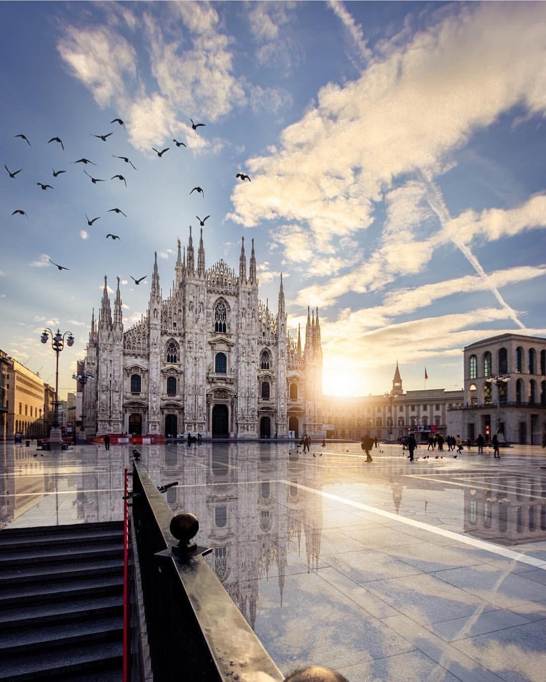 Milan Cathedral 🇮🇹✨--