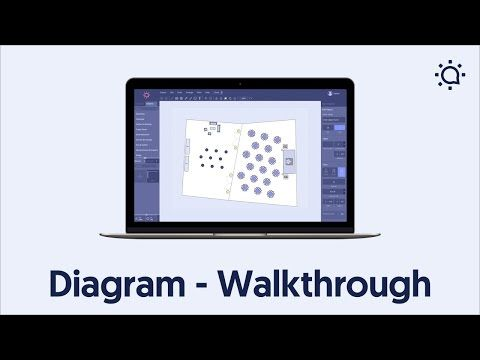 Event Layout Software - Social Tables Diagram Walkthrough - YouTube