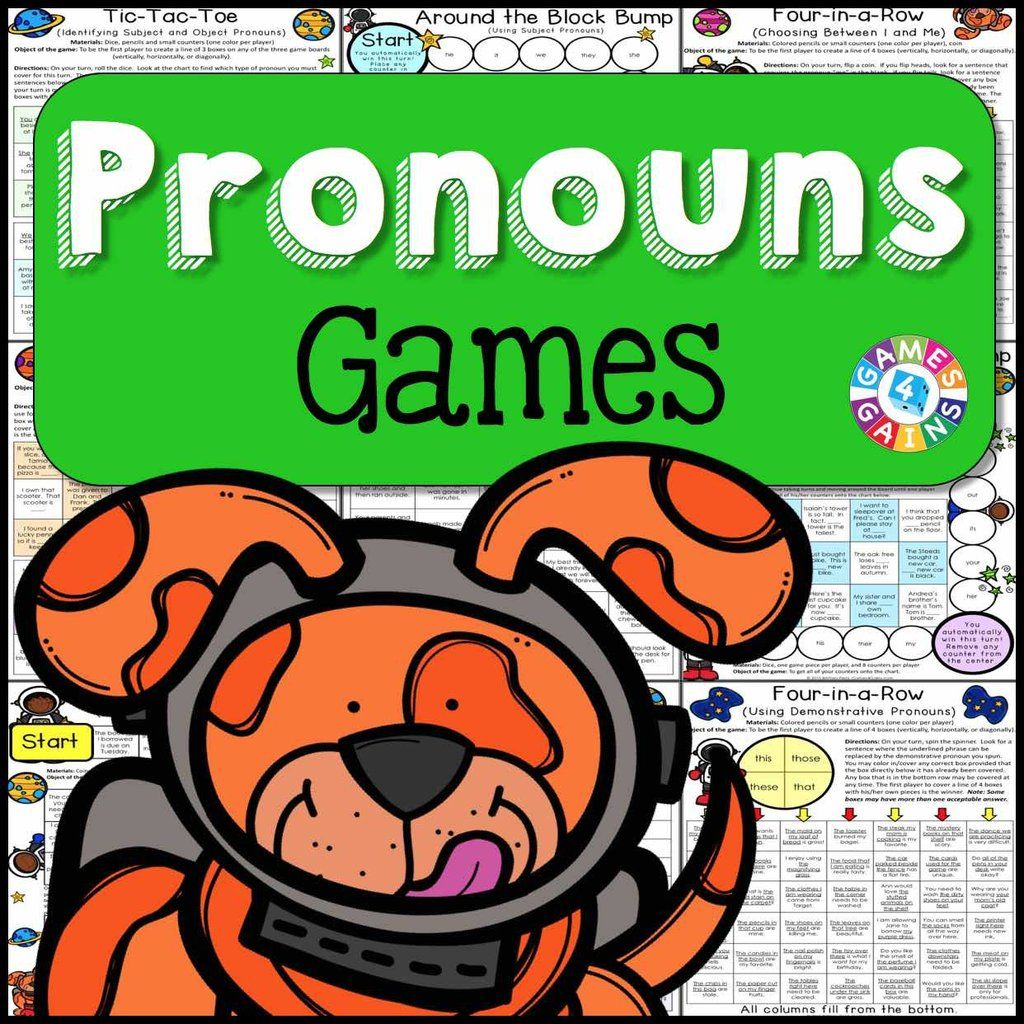 Pronouns Games