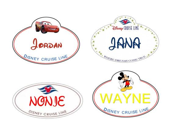 Disney Cruise personalized cabin door magnets - Set of 4 on Etsy, $12.00