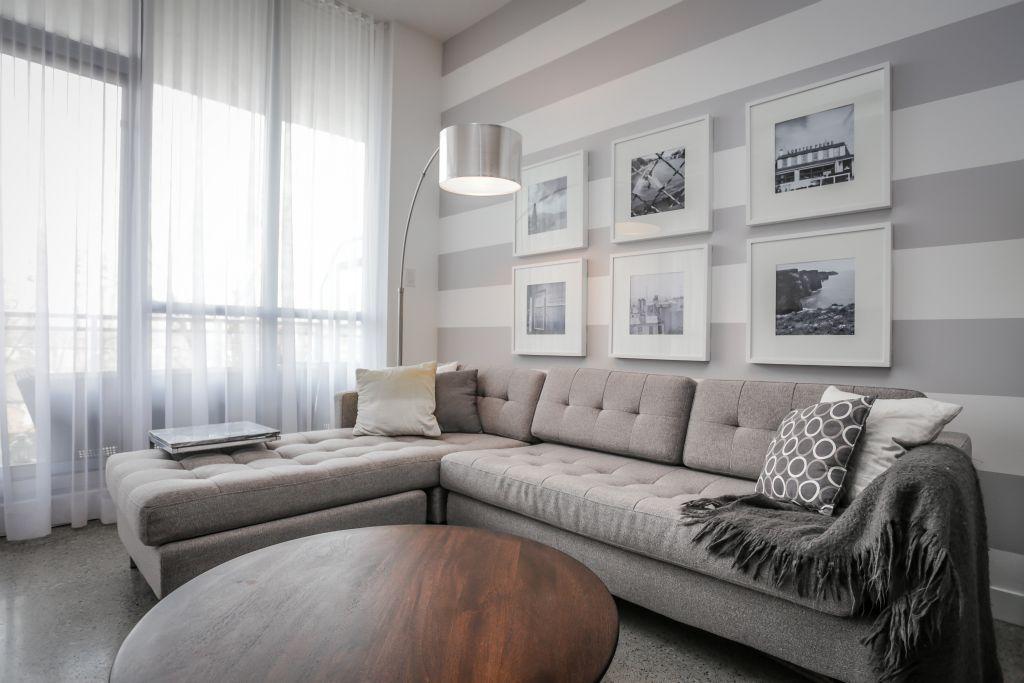 living room  condo decorating accent wall bedroom