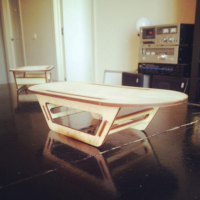 Laser cut table...Cool, simple design